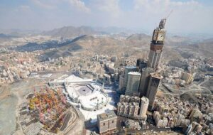 Abraj Al Bait, one of the tallest buildings in the world