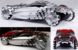 BMW Lovos Concept - strangest cars in the world