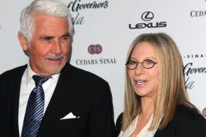 Barbara Streisand and James Brolin