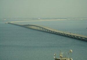 King Fahd Bridge - one of the largest bridges in the world