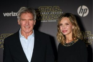 Harrison Ford and Calista Flockhart | Kathy Hutchins