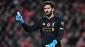 Alisson Becker - best goalkeepers in the world