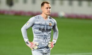 Ter Stegen - 3rd best goalkeeper in the world