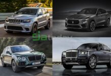 most powerful SUVs in the world