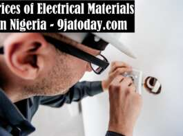 Prices of Electrical Materials In Nigeria