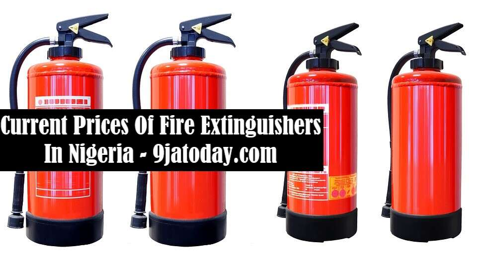 Prices Of Fire Extinguishers In Nigeria