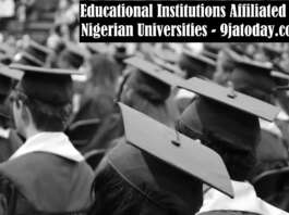 Educational Institutions Affiliated To Nigerian Universities